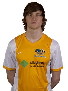 Former Rhino, Danny Earls led the Riverhounds to their first win ever at Rochester in 2014.