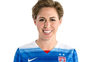 Meghan Klingenberg played her HS soccer at Pine Richland, collegiately for North Carolina -- and now is a member of the US Women's National Team.