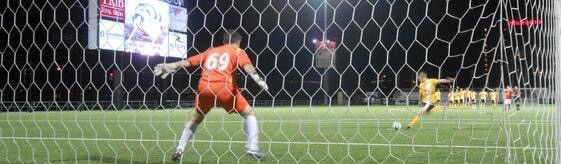 Riverhounds advanced on penalties in the second round of the U.S. Open Cup in 2013 vs RWB Adria.