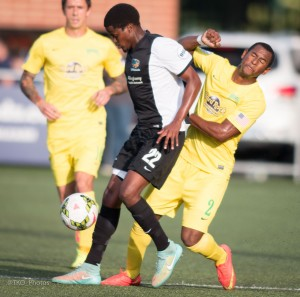 Lebo Moloto has come on strong for the Riverhounds -- now has three goals and seven assists.