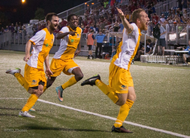 The Riverhounds-City Islanders provided plenty of drama in their first two matches this year.