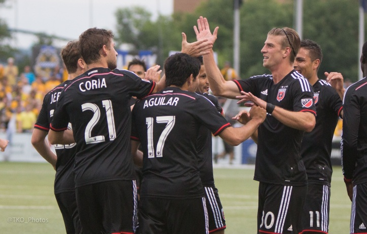 D.C. United gave Pittsburgh fans a glimpse of a Major League Soccer team in June.