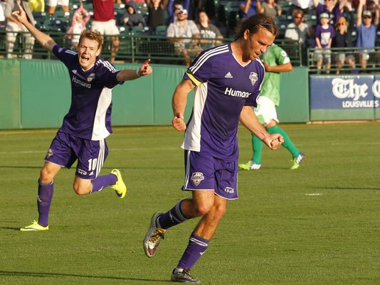 Former Chicago Fire forward, Matt Fondy (10 goals) has brought star power to the Louisville line up this year.