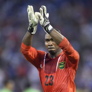 Riverhounds goalkeeper Ryan Thompson will be in Philadelphia tonight trying to help Jamaica win their first ever CONCACAF Gold Cup.