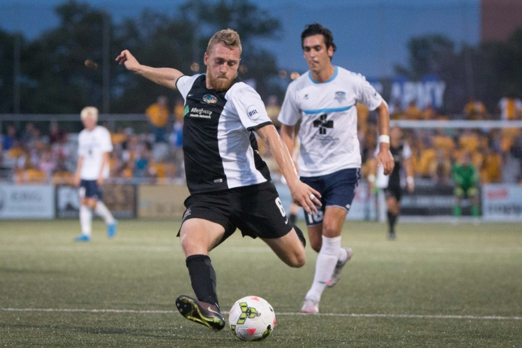 USL's third leading goal scorer, Rob Vincent, with 18 goals, returns to the lineup as the Riverhounds seek a win at Wilmington.