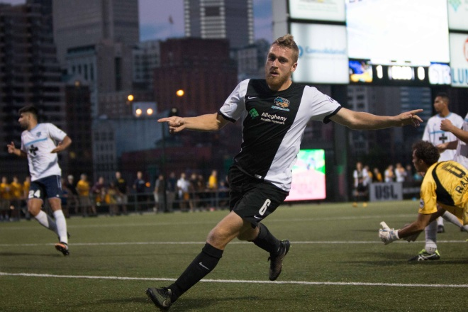Rob Vincent's Hat Trick Helped Push the Riverhounds past Wilmington to end a three-game losing streak.