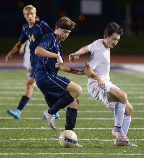 Ambridge and Greensburg Salem battled for 110 minutes before going to PKs. Ambridge prevailed.