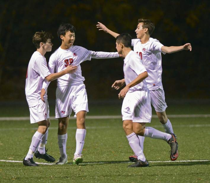 Fox Chapel capped an improbable come-from-behind win last night, by beating Central York in a shootout after scoring the equalizer with 51 seconds left in regulation.
