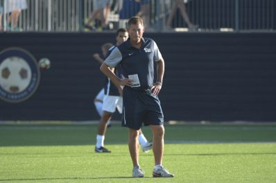 Pitt men's soccer vs. Detroit, Ambrose Urbanic Field, August 26, 2016